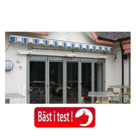 Ausgangsprodukte HeatLight VLRW15 Terrassenstrahler aus Aluminium 1500 W