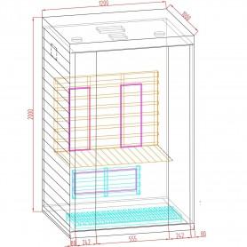 Ausgangsprodukte Luxline 2-Personen-Saunageschäft