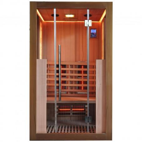 """Ausgehende Produkte Salzige Sauna """"IR Sauna Hemlock"""" Eingestellt"""