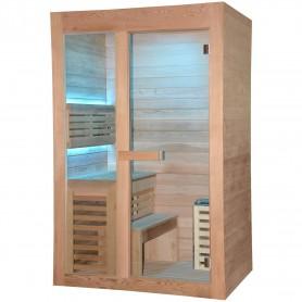 Ausgangsprodukte Hot Cube Sauna für 2 Personen