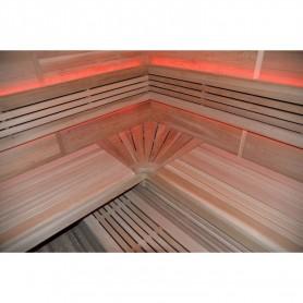 Ausgangsprodukte Sauna Hot Cube für 6-7 Personen Außenmaße: Länge: 2000 mmHöhe: 2000 mmBreite: 2000 mm