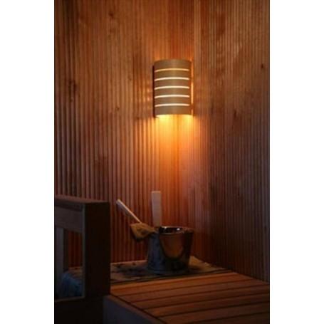 Beleuchtung Saunalampe Raita aus wärmebehandelter Birke