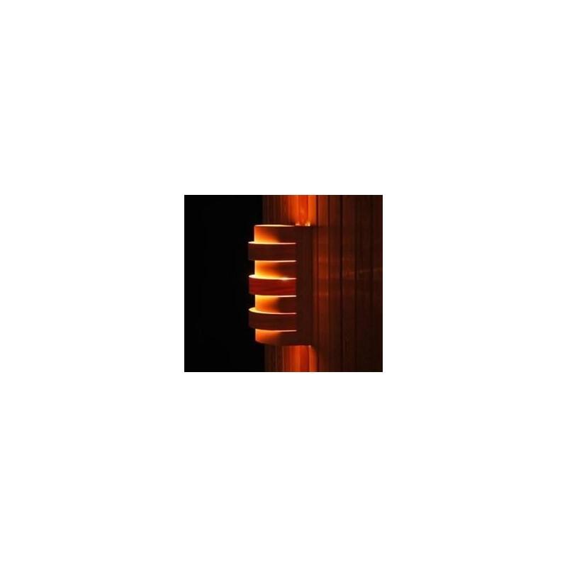 Shades Sauna Lampenschirm 917D Cedar, Wand- und Eckmodell