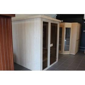 Sauna Traditional Wide Vision 4-5 Personen Traditionelle Sauna für 4 bis 5 Personen. Größe: 1980 x 1700 x 1900 mmHolz
