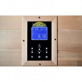 IR Glossy Sauna für 1 Person mit Bedienfeld