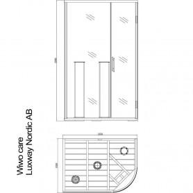 Sauna Infrarot Wiwo Pflege
