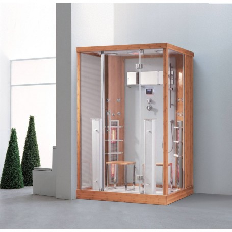 Duschkabine Infrarot InfraDusch Eco Line 2 Personen Außenmaße.Länge: 1450 mmHöhe: 2150 mmBreite: 900 mmAusverkauft! produ