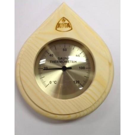 Thermo- und Hygrometer Kota Saunathermometer Drop Pine - 250TP