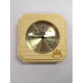 Thermo- und Hygrometer Kota Saunathermometer Square Pine - 220TP