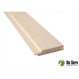 Saunapaneel ASP 15x90 Saunapaneel in asp. 15x90mm Länge: 3,0 m, 6 Stück Länge: 3,0 m, 6 Stück