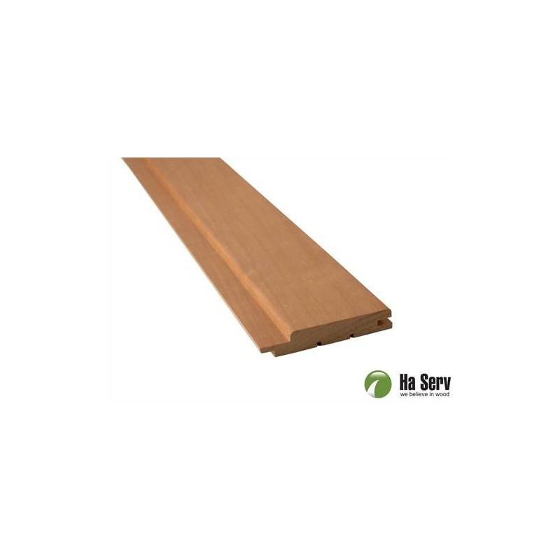 Wärmebehandeltes ASP 15x90 Saunapaneel aus wärmebehandeltem Espenholz. 15x90mm Länge: 3,0 m, 6 Stück Länge: 3,0 m, 6 Stück