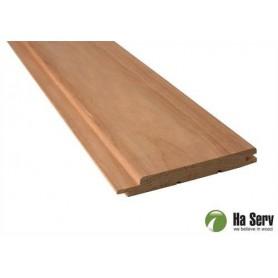 Wärmebehandeltes ASP 15x125 Saunapaneel aus wärmebehandeltem Espenholz. 15x125mm Länge: 2,4 m, 6 Stück Länge: 2,4 m, 6 Stück / S