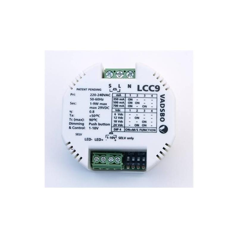 Transformator und Zubehör Drives & Dimmer LED Sauna 12V 9w LCC9