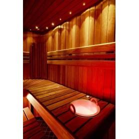 Beleuchtung Saunabeleuchtung LedLite 12 180 ° C (12 Dioden) Schwarz