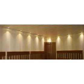 Beleuchtung Saunabeleuchtung LedLite 6 180 ° C (6 Dioden) Silber
