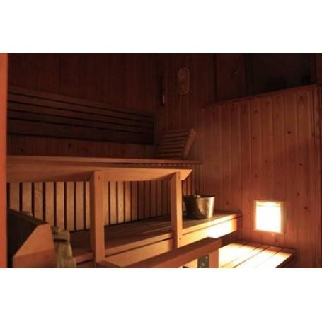 Beleuchtung Saunalampe Einbau Kuivi Schwarz
