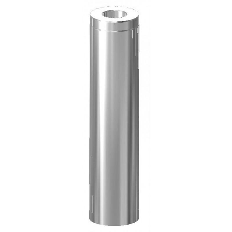 Schornsteine und Rauchrohre für Saunaöfen Schornsteinlänge Schiedel, 955 mm 120