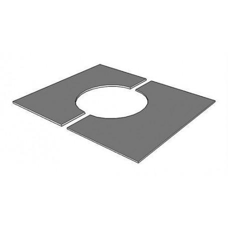 Kaminzubehör für Saunaöfen Abdeckplatte 20-35 Grad