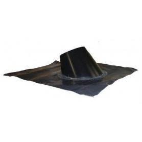 Kaminzubehör für Saunaöfen Auflagewinkel 33-45gr. Formbar, schwarz