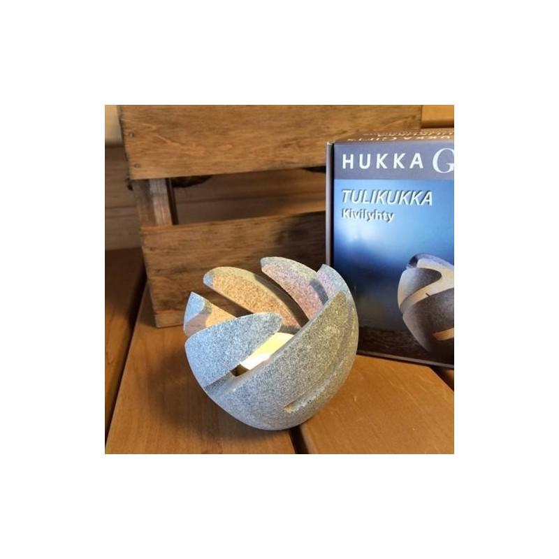 Sonstiges Saunazubehör Hukka Kerzenhalter aus Speckstein