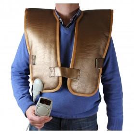 Infrarotkörper Infrarot für Rücken und Rumpf mit Turmalinstein Maße: Breite: 520 mmLänge: 1020 mmTurmalin
