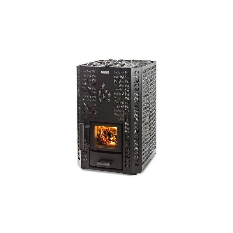 Narvi Holzofen Narvi Stony 20 Black Für Saunagröße Saunagröße 8-20 m3