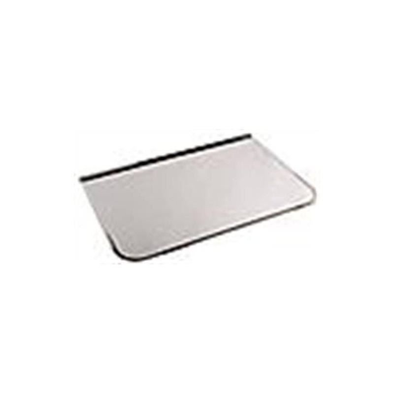 Zubehör für einen beheizten Saunaofen Frontplatte / Funkenschutz Chrom 700x400 mm