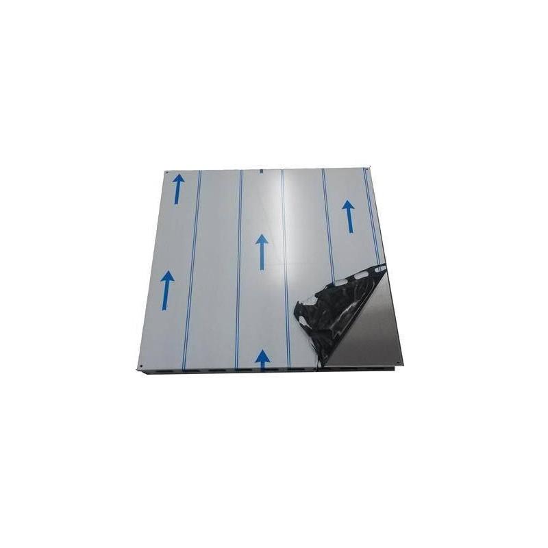 Zubehör für einen beheizten Saunaofen Deckenschutzplatte Kota Edelstahl 650 x 650 mm