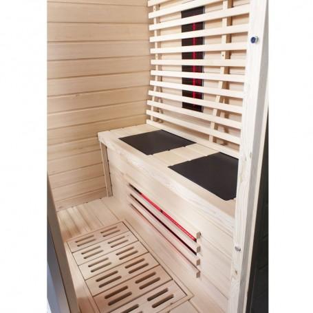 Sauna für 2 Personen Infrarot Wiwo Care