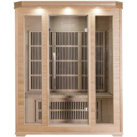 Sauna Infrarot für 3-4 Personen Delphi 3 Personen