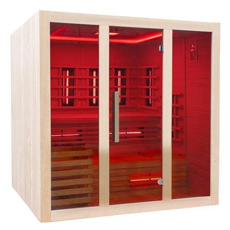 Kombi Sauna für 4 bis 5 Personen