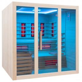 Verstellbare Sauna mit Fernbedienung
