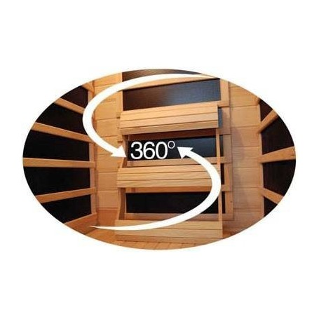 Ausgehende Produkte Single Harmony Cedar Sauna