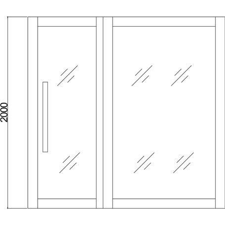 Multi-Sauna Heatway Corner Sauna für 5-6 Personen 42995 - 29