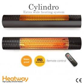 Heizpilz HeatWay Cylindro 2000W Schwarz 2795 - 1