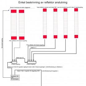 Elektrische Anschlüsse und Verbinder Verbindungskabel zwischen Anschlusskästen 20 cm TYP 4