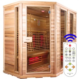 Sauna Relax Lux Linke Zeder