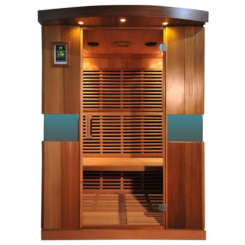 Ausgehende Produkte Professional Trio Ceder Außenabmessungen: Länge: 1500 mmHöhe: 1980 mmTiefe: 1220 mm ohne Lichtrampe Einschli