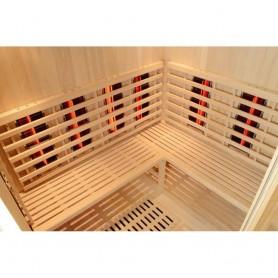 Sauna Infrarot für 5-8 Personen Entspannung 5-6 Personen Infrasauna für 5 bis 6 Personen Größe: 1800 x 1500 x 2000 mm