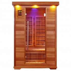 Ausgehende Produkte Apollon Turmaline Sauna Hemlock